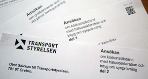 ansöka om körkort